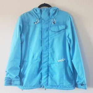 Women's Volcom Light Blue Snowboarding Jacket